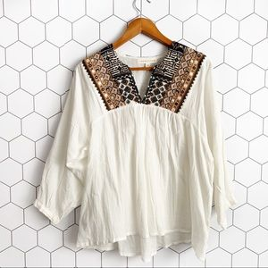 Lovestitch white embroidered blouse